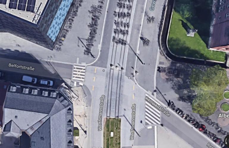 Anfrage an die Verwaltung zur Verkehrssituation in der  Rempartstr. und Eisenbahnstr.