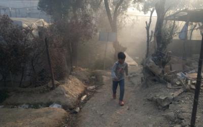 Offener Brief: Sofortige Aufnahme von Geflüchteten aus Moria