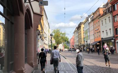 Mangelnde Kenntlichmachung der Kameraüberwachung in der Innenstadt