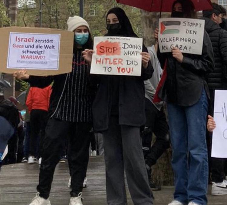 PM: JUPI-Fraktion verurteilt Antisemitische Plakate bei Pro Palästinensischer Kundgebung und fordert Konsequenzen